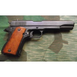 Pistola Colt M1911 Cachas Madera