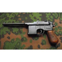 Pistola Mauser C96 Empuñadura Madera